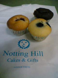 ノッティングヒルのケーキ
