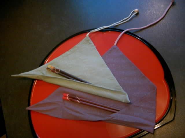 マイ箸セット 二種取り扱い始めました!