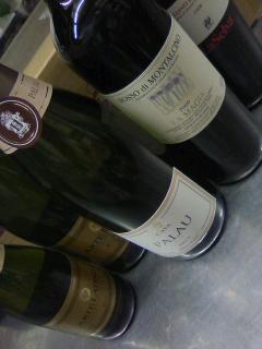 ラテンなワインたち〜♪