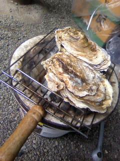 昼から海鮮BBQ