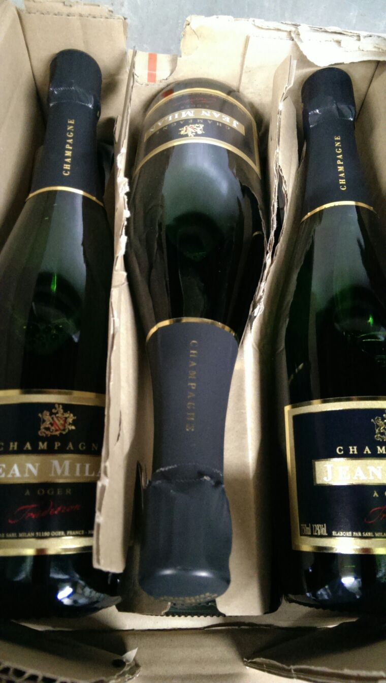 私の大好きなシャンパン。ジャンミランがたくさん♪