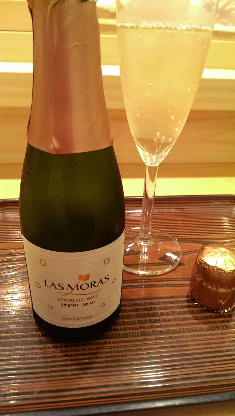 ヴィオニエとシラーズの珍しいスパークリングワイン