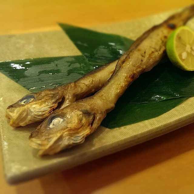 激レア、プルプル深海魚の干物♪