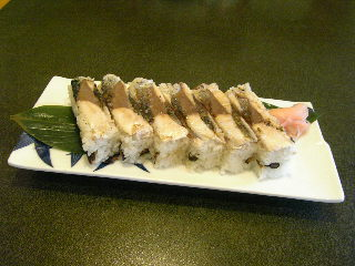 あぶり鯖の押し寿司