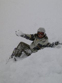宝台樹スキー場でパウダー満喫!