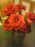 バラの花を貰っちゃいました!